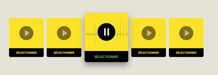 Obtenez le ton-de-voix que vous vouliez avec des extraits pratiques