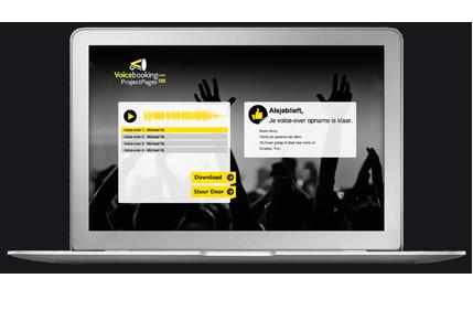 Snel en overzichtelijk je voice-overs vinden via onze website