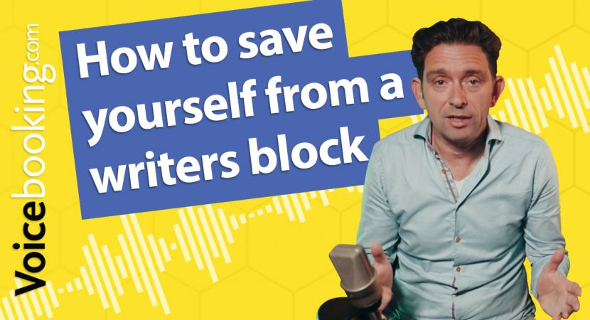 How to save yourself from a writers block thumbnail