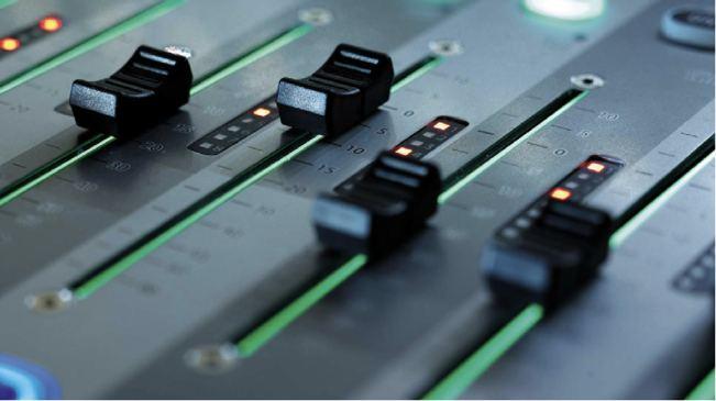 audioproductie knoppen